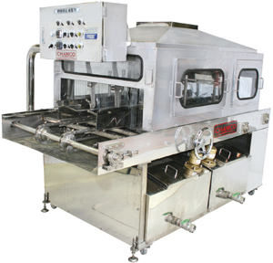 CHAMCO Рыбное оборудование - Оборудование для рыбы, Чамко - Chamko Машина для мойки контейнеров больших размеров CHCW-2